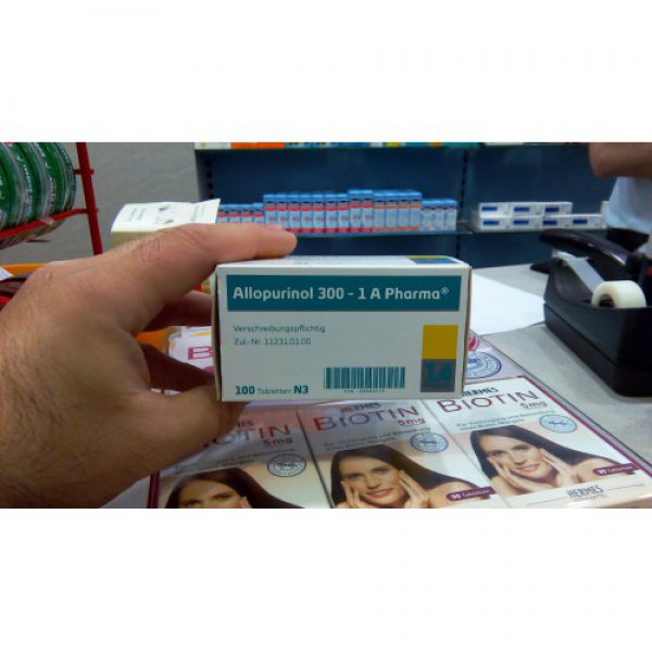 Аллопуринол ALLOPURINOL 300mg - 100 Шт