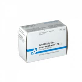 Изображение товара: Амитриптилин AMITRIPTYLIN - CT 25mg - 100 Шт