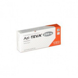 Изображение товара: Азитромицин AZITHROMYCIN 250 - 6 Шт