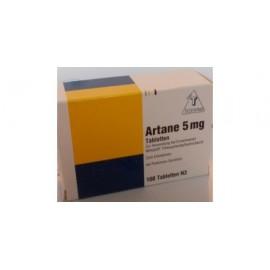 Изображение товара: Артане (Тригексифенидил)  Artane 5 мг/100 таблеток