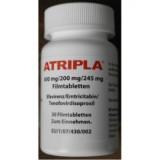 Атрипла Atripla 600 mg/200 mg/245 mg 30 таблеток