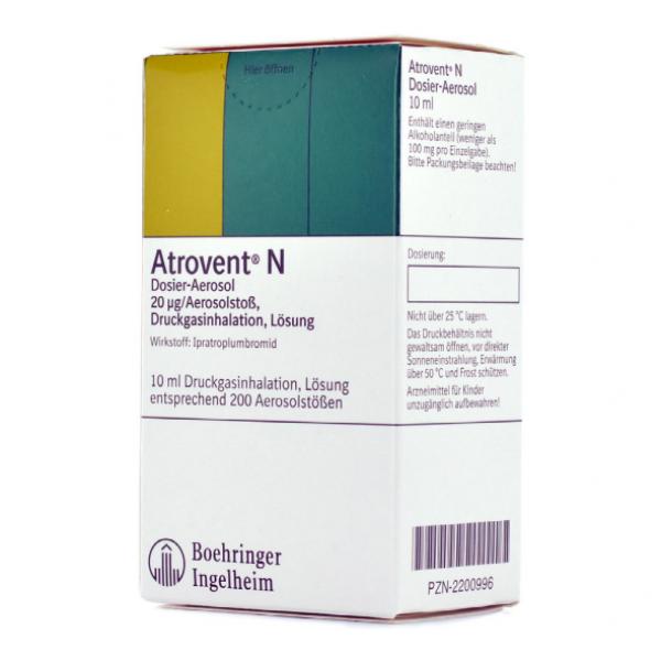 Атровент ATROVENT N/3x10 Ml