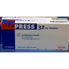 Изображение товара: Блопресс (Кандезартанcилексетил) Blopress (Candesartancilexetil) 32 мг/28 таблеток