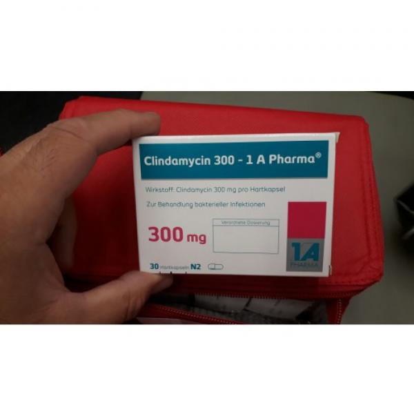 Клиндамицин CLINDAMYCIN 300 - 30 Шт