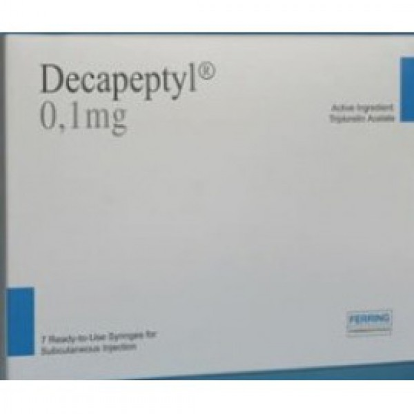 Декапептил Decapeptyl IVF 0.1mg/1ml 7шт.