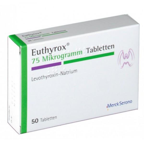 Эутирокс EUTHYROX 75 - 100 Шт