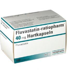 Изображение товара: Флувастин FLUVASTATIN 40MG - 100 Шт