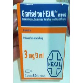 Изображение товара: Гранистерон GRANISETRON HEXAL 1MG/ML  5X3 ml