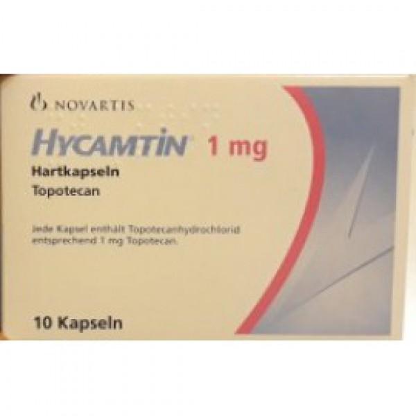 Гикамтин Hycamtin 1 мг/10 капсул