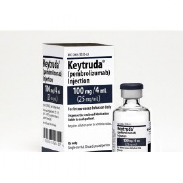 Кейтруда Keytruda (Пембролизумаб / Pembrolizumab) 25MG/ML (100MG) 4ML