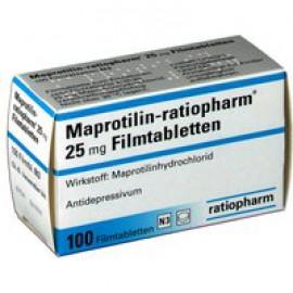 Изображение товара: Мапротилин MAPROTILIN 25 Мг - 100 Шт