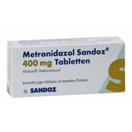 Изображение товара: Метронизадол METRONIDAZOL 400 - 20Шт