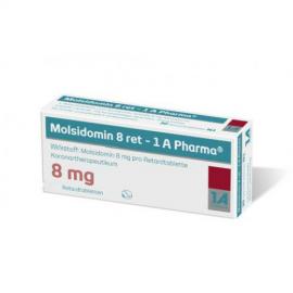 Изображение товара: Молсидомин MOLSIDOMIN 8Mg - 100 Шт