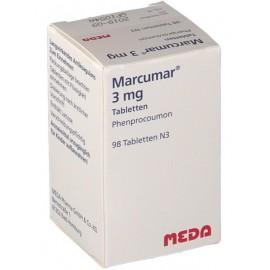 Изображение товара: Маркумар Marcumar 3 мг/98 таблеток