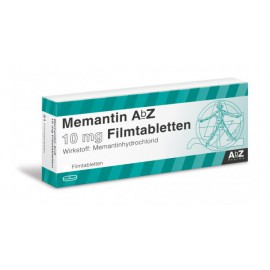 Изображение товара: Мемантин Memantin 10 мг/ 98 таблеток