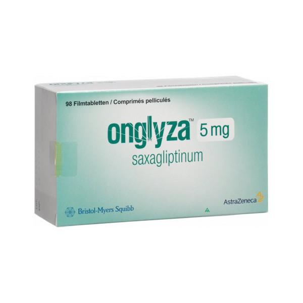 Онглиза ONGLYZA 5 мг/98 таблеток