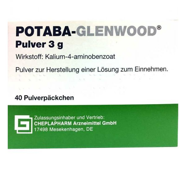 Потаба POTABA GLENWOOD PULVER 3G/ 40 Шт
