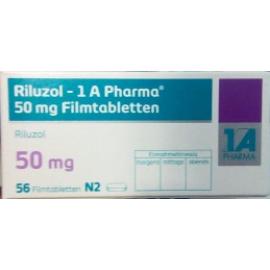 Изображение товара: Рилузол RILUZOL 50 мг/56 таблеток