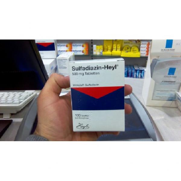 Сульфадиазин SULFADIAZIN - 100 ШТ