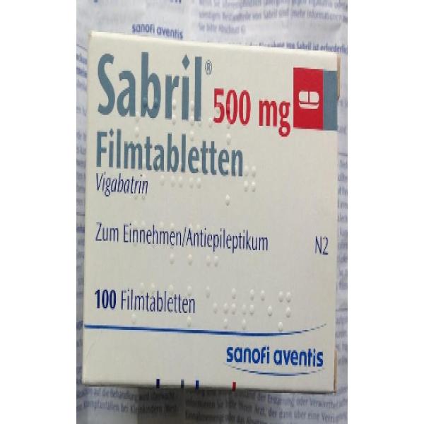 Сабрил SABRIL 100 шт