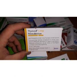 Изображение товара: Тирозол THYROZOL 5 - 100 Шт