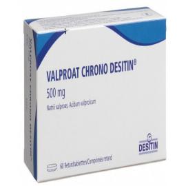 Изображение товара: Вальпроат VALPROAT CHRONO DESIT 500MG
