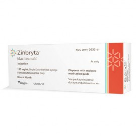 Изображение товара: Зинбрита Zinbryta (Даклизумаб) 150 мг/1 шт