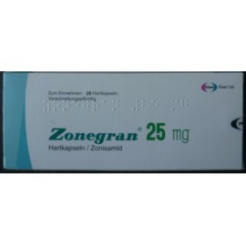 Изображение товара: Зонегран Zonegran 25 мг/28 капсул