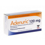 Аденурик Adenuric 120 мг /84 таблеток