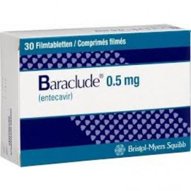 Изображение товара: Бараклюд Baraclude 0,5 мг/30 таблеток