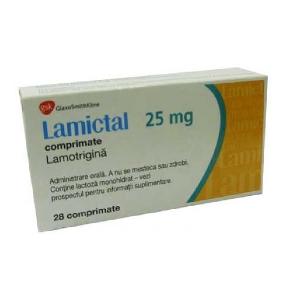 Ламиктал LAMICTAL 25 TABLETTEN/42 Шт