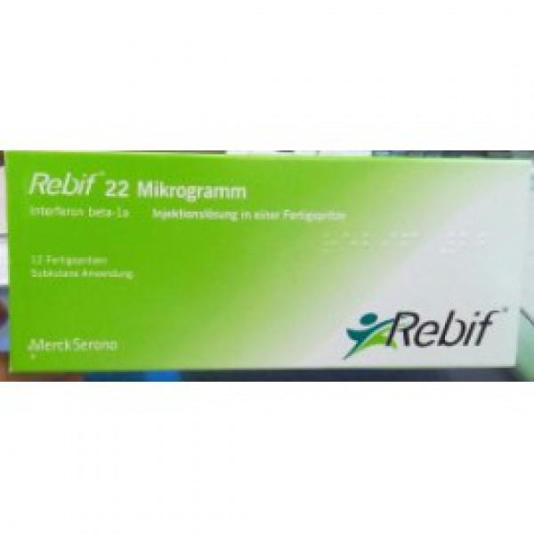 Ребиф Rebif 22 мкг/12 шт