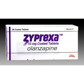 Изображение товара: Зипрекса Zyprexa 20 MG (Olanzapine) 56X20MG