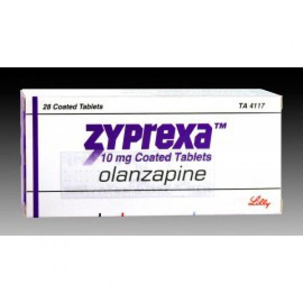 Зипрекса Zyprexa 20 MG (Olanzapine) 56X20MG