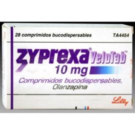 Изображение товара: Зипрекса Велотаб Zyprexa Velotab10 MG (Olanzapine) 28X10MG