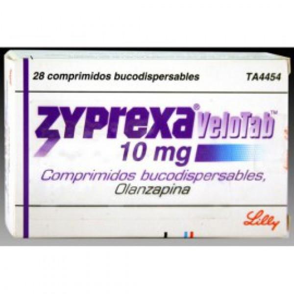 Зипрекса Велотаб Zyprexa Velotab10 MG (Olanzapine) 28X10MG