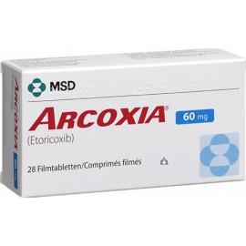 Изображение товара: Аркоксиа Arcoxia 60 mg/100Шт