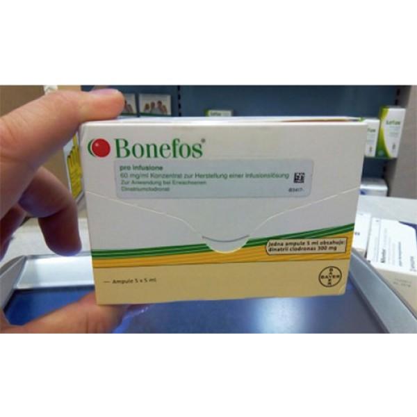 Бонефос Bonefos Pro Infusione 5 Ампул по 5 Мл