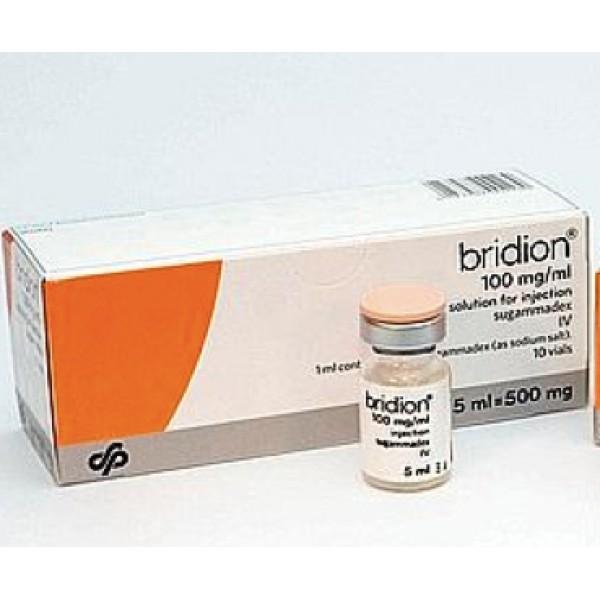 Брайдион Bridion 100MG/ML 10X5 ml