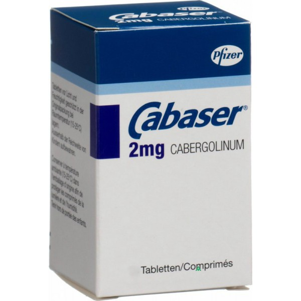 Кабазер Cabaseril 2MG/60Шт