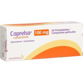 Изображение товара: Капрелса Caprelsa (Вандетаниб) 100 мг/30 таблеток