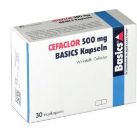 Изображение товара: Цефаклор Cefaclor 500MG Basics KAPS/10 Шт