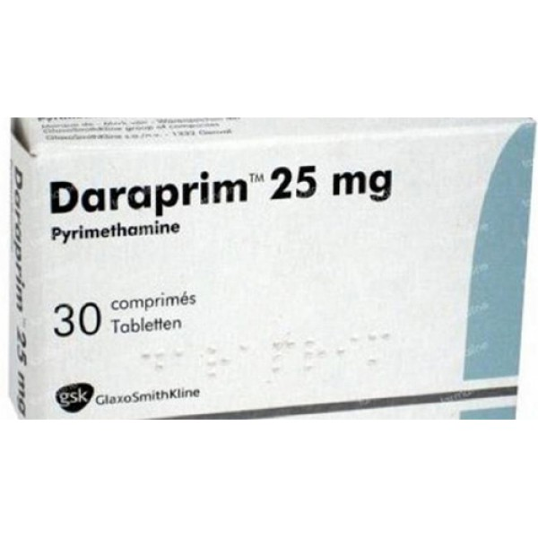 Дараприм (Пириметамин) Daraprim 30 Шт
