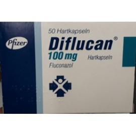 Изображение товара: Дифлюкан Diflucan 100 мг/100 капсул