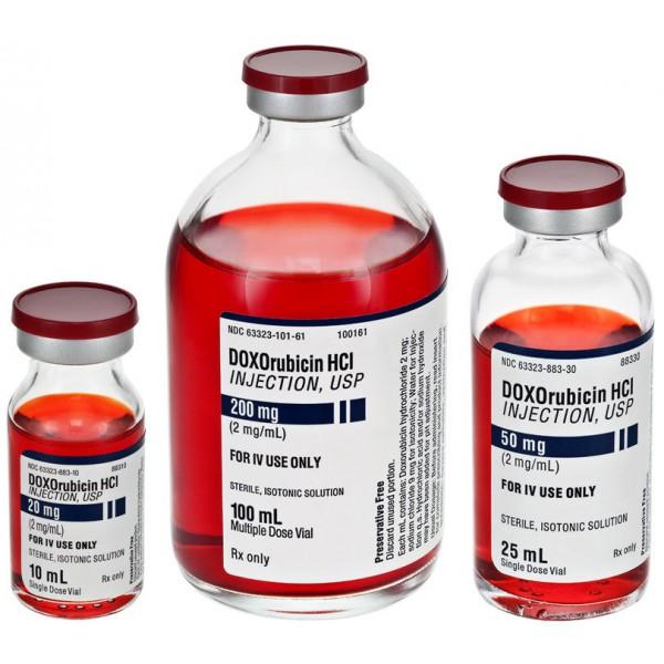 Доксорубицин Doxorubicin HCL ONCO 200MG/1 Шт
