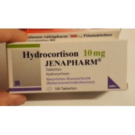 Изображение товара: Гидрокортизон Hydrocortison 10MG /100 шт