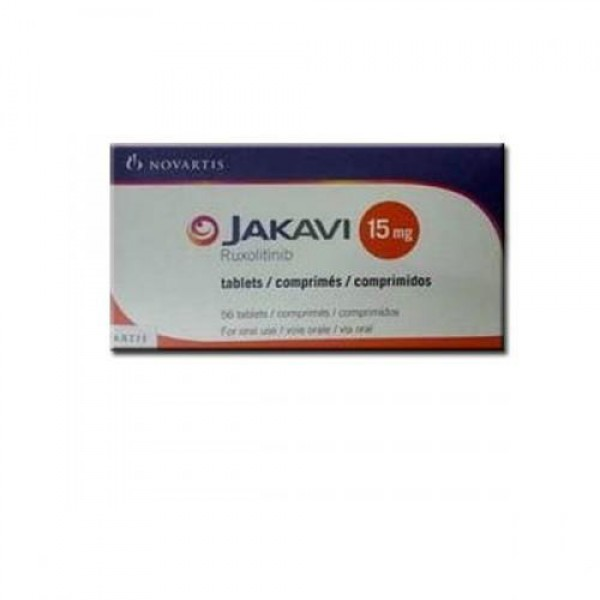 Джакави Jakavi (Руксолитиниб Ruxolitinib) 15 мг/56 таблеток