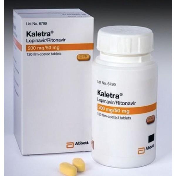 Калетра Kaletra 200 mg/50 Mg/ 120 Шт