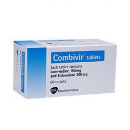 Изображение товара: Комбивир Combivir 150 мг/300 мг/ 60 таблеток