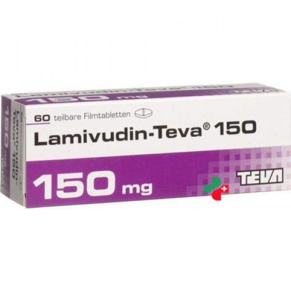Ламивудин Lamivudin ZID HEXAL150/300 шт